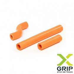 Set furtune radiator KTM 2T 250/300 '17-'19/Husqvarna 2T 250/300 '17-'19 orange X-GRIP XG-1759
