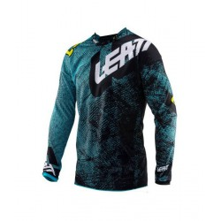 Tricou LEATT GPX 4.5 Lite Teach Blue 5019011292-L