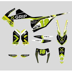 Set stickere Husqvarna '17-'19 X-GRIP XG-1903