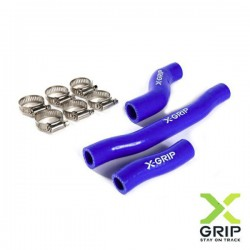 Set furtune radiator KTM 2T 250/300 2020 / Husqvarna 2T 250/300 2020 blue X-GRIP XG-2224