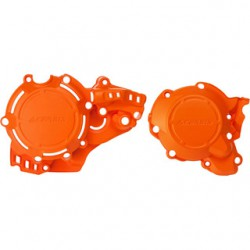 Set protectii ambreiaj / aprindere Husqvarna / KTM 250/300 '20 Orange Acerbis X-Power 23674011AU