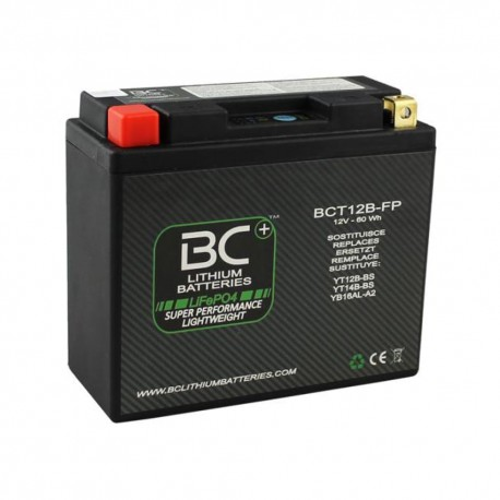 Acumulator Lithium-Ion 12V 5Ah 300CCA 150x65x130 LiFePO4 BC Battery 8059070581485 BCT12B-FP