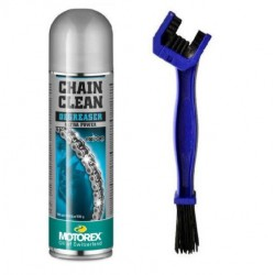 Spray curatare lant 500 ml/perie Sifam Motorex 980166OUT1015